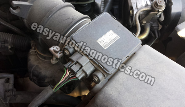 Ford 2 9l Engine Diagram Part 1 How To Test The Maf Sensor 1997 1998 3 0l