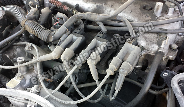 mitsubishi car stereo wiring diagram rat circulatory system 1997 2004 3 0l v6 firing order ignition coil spark plug wire id how to test the crankshaft position sensor 1994 montero