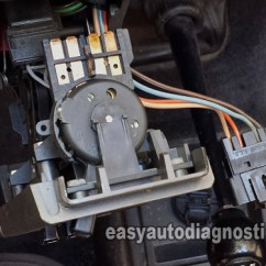 Auto Starter Motor Wiring Diagram Allen Bradley Safety Diagrams Part 1 -how To Test The Blower Control Switch (2.8l Chevy S10/ Gmc S15)