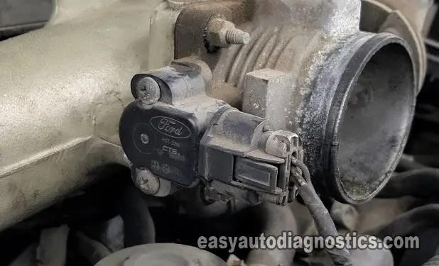 4 2 Liter Ford Engine Diagram Part 1 How To Test The Throttle Position Sensor 4 2l