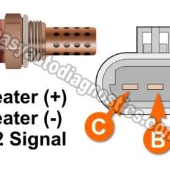 Bosch Lambda Sensor Wiring Diagram Generac Manual Transfer Switch Part 1 -3-wire Oxygen Heater Test (1993 3.8l V6 Gm)