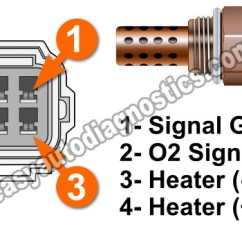 Gm 4 Wire Oxygen Sensor Wiring Diagram 7 Pin Trailer Harness Part 1 -oxygen Heater Test -p0155 (2.5l Grand Vitara)