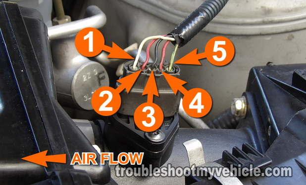 vw golf 1 wiring diagram isuzu npr66 part -how to test the maf sensor (2002-2003 3.5l maxima)