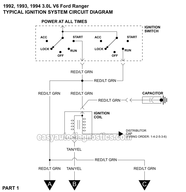 1994 e350 ignition switch wiring diagram wiring diagram