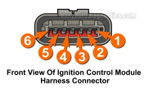 Part 2 19921994 30L Ford Ranger Ignition Control Module Wiring Diagram