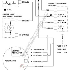 Electrical Wiring Diagram Ford F650 7 Pin Connector Part 1 -1992-1994 2.3l Ranger Alternator