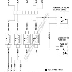 Honda Fuel Injector Wiring Diagram Nissan Sentra Stereo Part 1 -1992-1993 2.2l Accord Circuit
