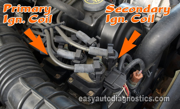 ford ranger alternator wiring diagram 2004 chevrolet silverado stereo part 2 -ignition system circuit (1998-2001 2.5l ranger)