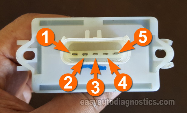 Dodge Dakota Wiring Diagram Part 1 How To Test The Blower Motor Resistor 2001 2004