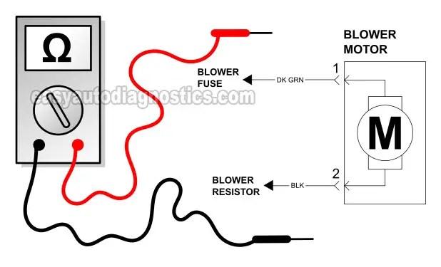 2005 Dodge Stratus Blower Motor Resistor Replacement