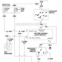 1999 Chevy S10 Headlight Wiring Diagram 4 Cylinder Firing Order 1996 Diagrams Schematic Part 1 Circuit Gmc Pick Up And Suv Headlights