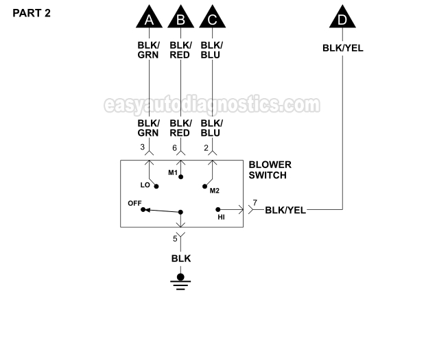 2000 isuzu rodeo engine diagram lutron 0 10v dimming wiring 1998 3 5l free for you blower motor 1996 2 v6 sebring and