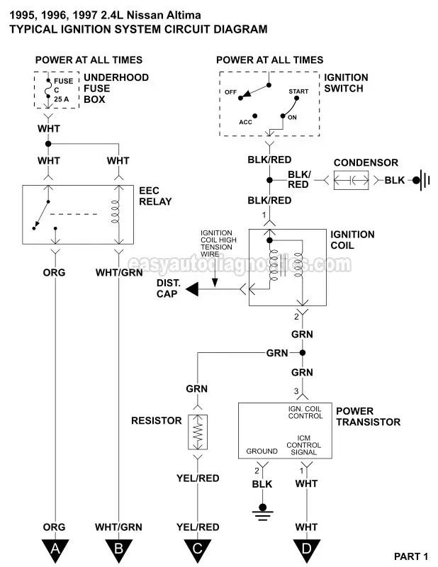1997 nissan maxima wiring diagram  240sx instrument cluster