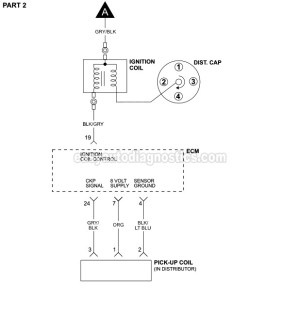 Part 1 Ignition System Wiring Diagram (19901992 25L
