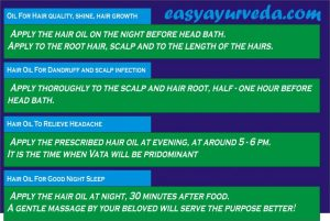 when and how to apply hair oil