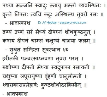 Haritaki - Terminalia chebula - Uses, Side Effects, Ayurveda Details