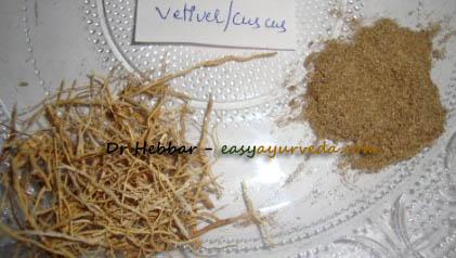 Ushira Dry root powder