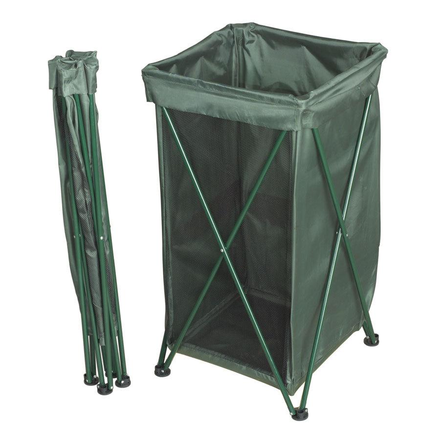 Captivating Lawn Trash Bag Holder Stand
