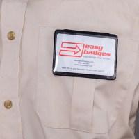 Magnetic Pocket ID Badge Holder - Horizontal - 153086 ...