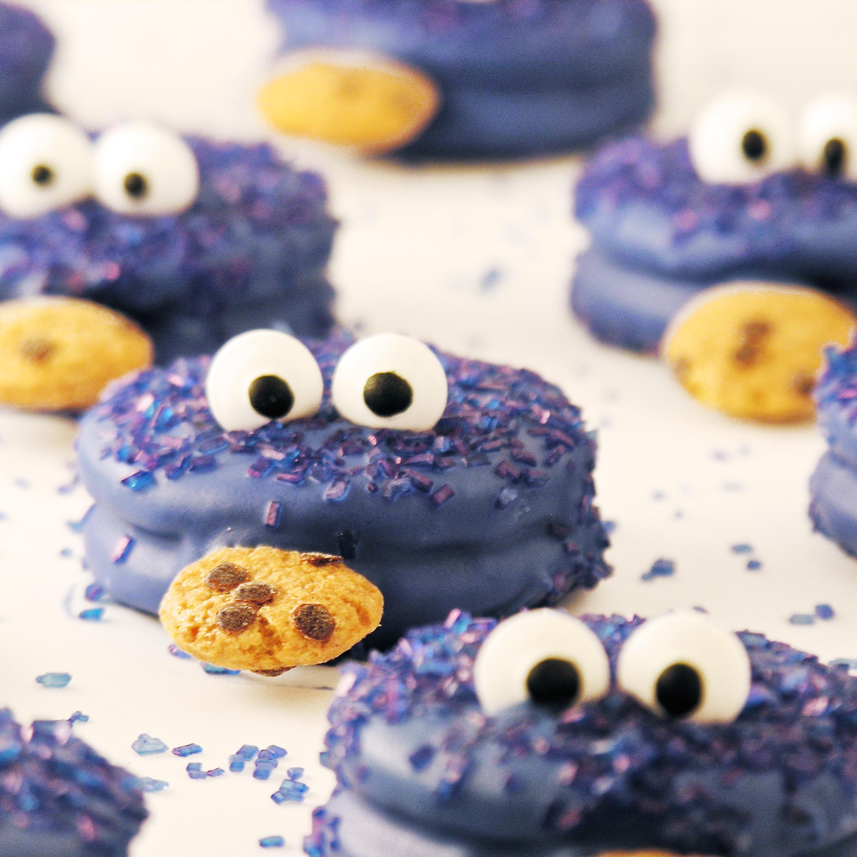 Cookie Monster Oreos EASYbAKED
