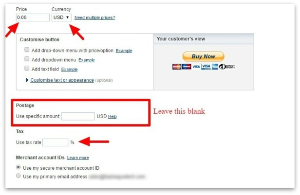 007_Edit PayPal payment button – PayPal