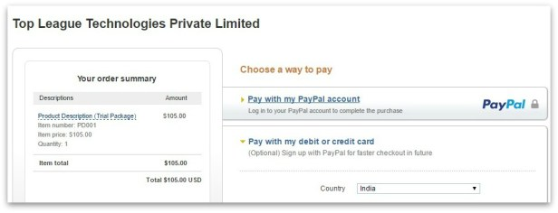 010_Pay with a debit or credit card – PayPal
