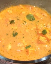 Paneer Makhni (Indian cottage cheese curry)