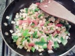 Saute Vegetables for the filling