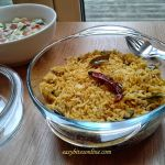 Vangibhath, quick aubergine rice with Indian spices recipe