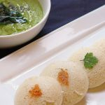 Idli ( steamed rice and lentil cake )
