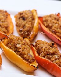 Bulgur Wheat Stuffed Mini Peppers