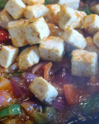 add pan fried tofu