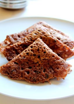 Instant Ragi Red Rice Rava Dosa