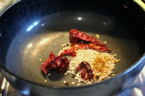 dry roast spices