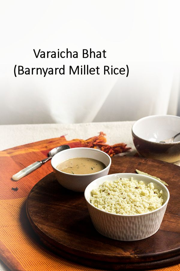 Varaicha Bhat Recipe (Barnyard Millet Rice recipe)