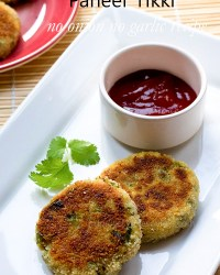 Paneer Tikki Recipe Paneer Cutlet
