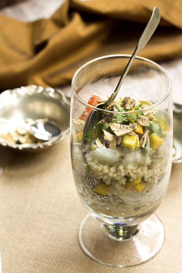 Healthy Savory Lunch Parfait