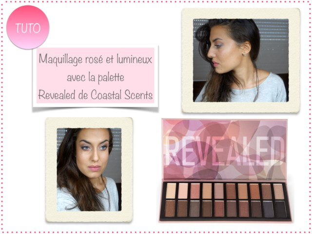 maquillage rose frais lumineux tuto