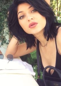 kylie jenner maquillage bouche