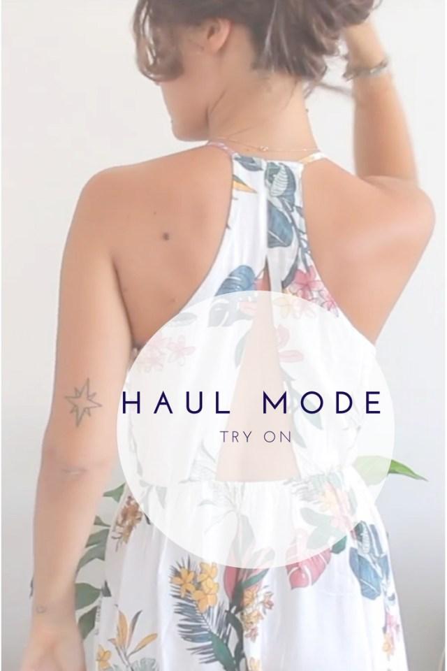 Un haul mode, try on (printemps - été) pour vous présenter mes derniers achats