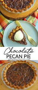 Picture collage of pie for Pinterest.