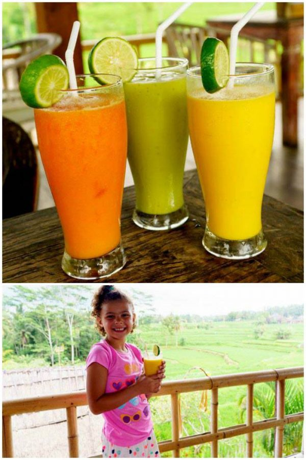 Delicious Smoothies in Bali
