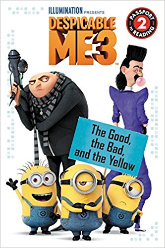 Despicable Me 3 books make the perfect party favor for both boys and girls.