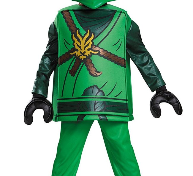 This The Lego Ninjago Movie Lloyd costume is going to be popular this Halloween.