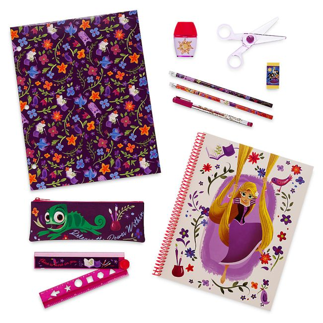 Tangled the Series back to school supplies are now available. They match the backpack!
