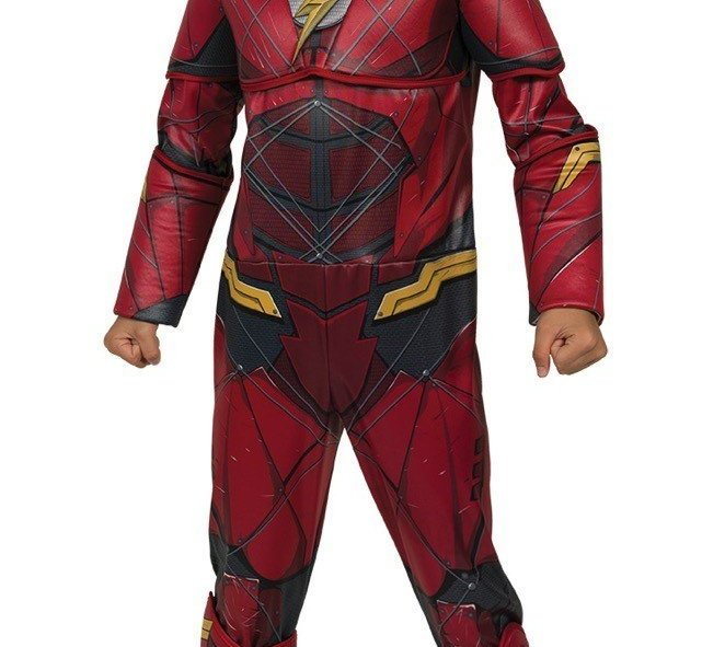 New for Halloween 2017 is The Flash costume from the upcoming Justice League film