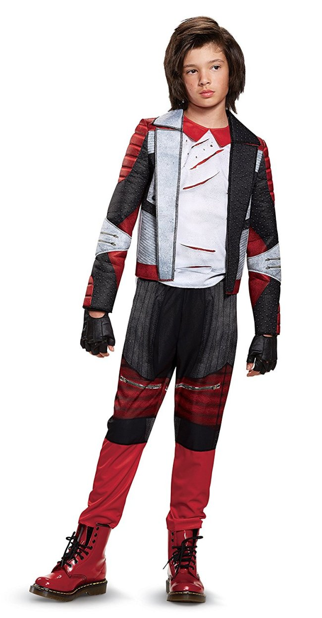 This Disney Descendants 2 Carlos costume for Halloween comes in Small, Medium and Large