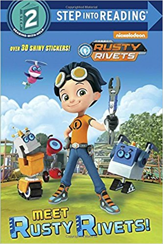 This Rusty Rivets book makes and excellent party favor that both parents and kids will enjoy receiving.