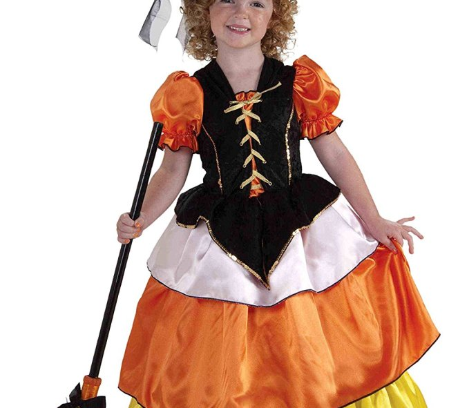 This is just one kind of Candy Corn costume for girls.