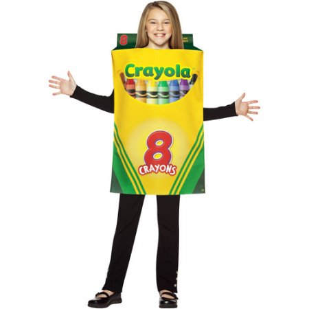 Child Crayola Crayon Box Costume for kids